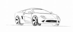 How To Draw A Sports Car - Sports Cars