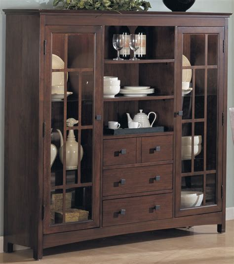 dining room hutch with glass doors china cabinets china cabinet w 2 glass doors 4