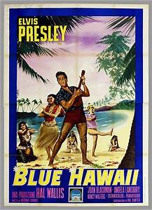 Blue Hawaii movie poster | Things that catch my eye ...
