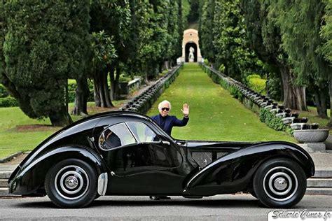 Ralph Lauren And His Magnificent 1938 Bugatti Type 57sc