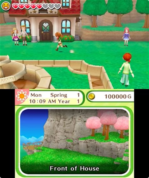 Harvest Moon: Skytree Village screenshots, art, fact sheet