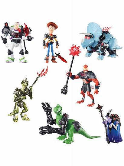 Battlesaurs Toy Story Figures Disney Action Assorted