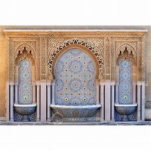 Tableau Porte Orientale : tableau oriental porte arabesque tableau maroc toile muslim tableau fes tableau rabat ~ Teatrodelosmanantiales.com Idées de Décoration