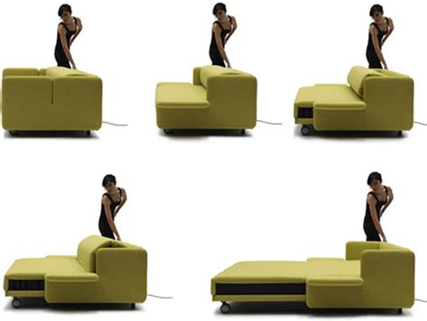 Space Saving Sleeper Sofa by Murphy Bed Combination Sofa Bed Design With Lime