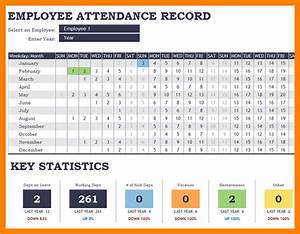 8+ employee attendance tracking template gcsemaths revision