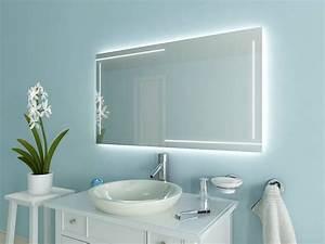 Bad Spiegelschränke Mit Beleuchtung : badspiegel mit led beleuchtung ancona ~ Michelbontemps.com Haus und Dekorationen