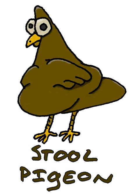 the wonderful world of reading and philosophy expression - What Does Stool Pigeon
