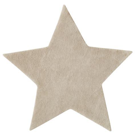 magasin chambre bebe tapis à poils courts en beige l 100 cm etoile