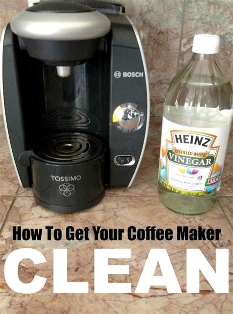 How to clean a coffee maker. 10 Vinegar Cleaning Secrets. So many amazing ways to use vinegar! This is so good to know ...
