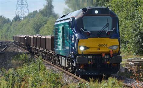 philips led lighted train engine railway photographs uk 2015