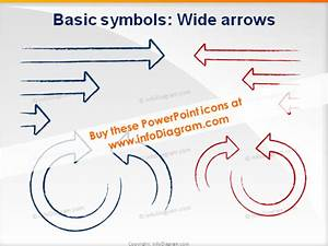 Handwritten Charcoal Icons Powerpoint Schema Diagram Shapes