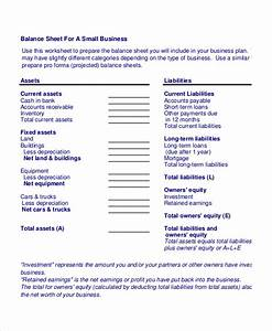 simple balance sheet 20 free word excel pdf documents With corporate balance sheet template