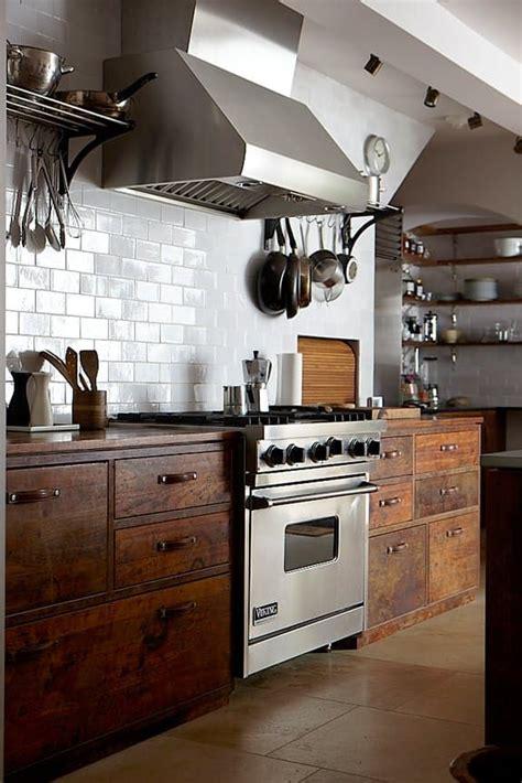 warm industrial   kitchen style statements