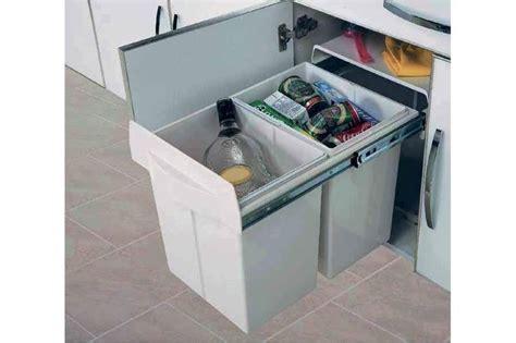 poubelle meuble cuisine poubelle tri selectif maxus accessoires de cuisines