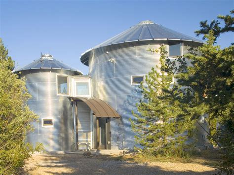 inexpensive home building build an inexpensive home using grain silos idesignarch
