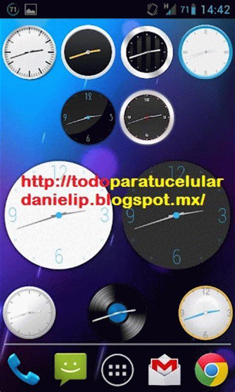 clockq analog clock widget  apk android todo