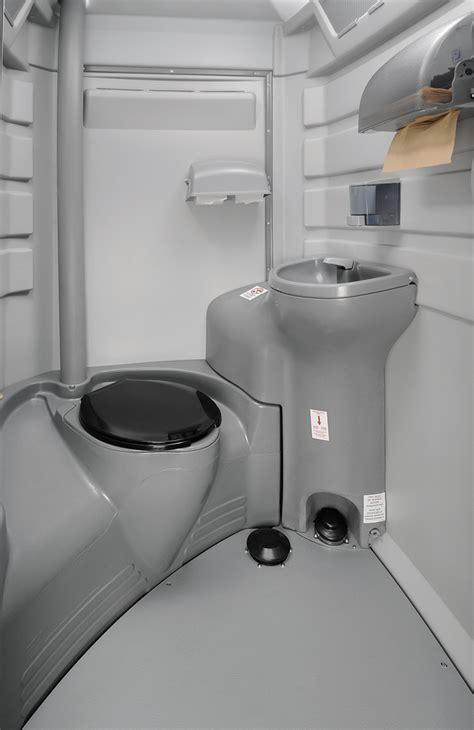 flushable portable restroom unit jimmys johnnys