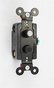 Single Pole Push Button Light Switch