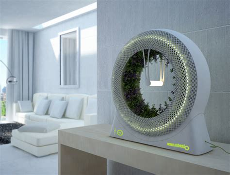 from outer space to small space rotary indoor hydroponic