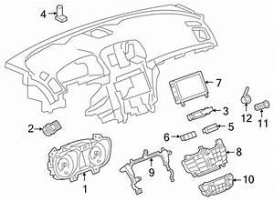 Buick Regal Instrument Cluster