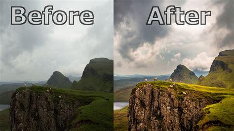 landscape photography editing  lightroom  lightroom