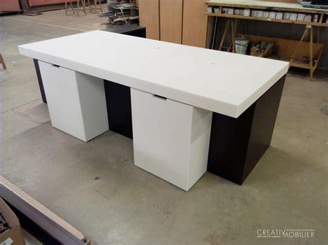 mobilier cuisine professionnel bureau d accueil au musée du quai branly creativ