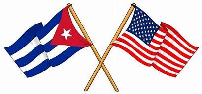 Cuban Cuba American Usa Relations Flag Flags