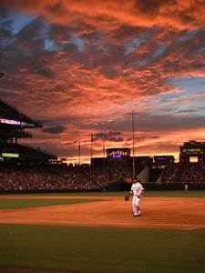 Sunset at Coors Field by MissNikiL on DeviantArt