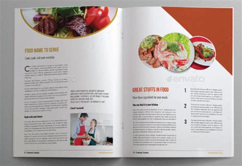 attractive cooking brochure templates psd ai vector