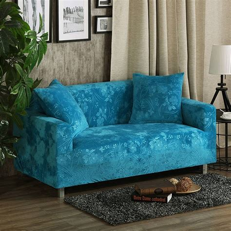 Turquoise Loveseat Slipcover by 30 Best Collection Of Turquoise Sofa Covers
