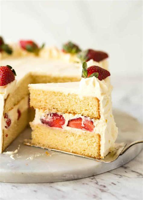 vanilla sponge cake recipetin eats