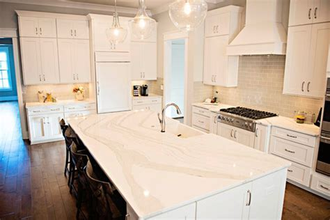 Infinity Flow: Marble Like Cambria Brittanicca Countertop
