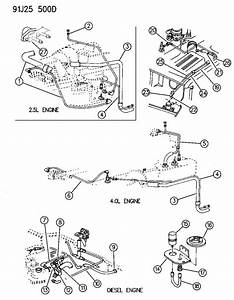 1992 Jeep Yj Vacuum Diagram  Jeep  Auto Parts Catalog And