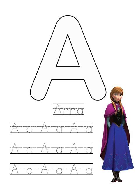 frozen writing worksheets  images worksheets