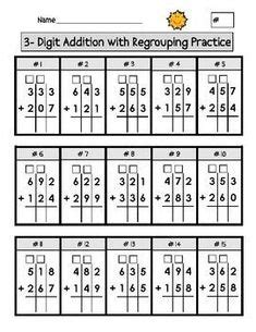 simple multiplication math reference sheet lists