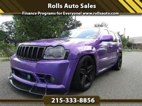 Purple Jeep Grand Cherokee For Sale Used Cars On Buysellsearch