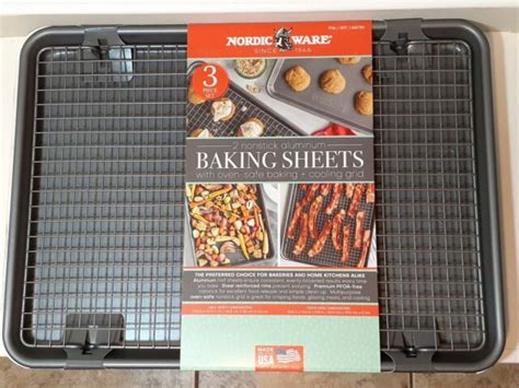 sheets baking nonstick ware nordic oven aluminium safe piece cookie