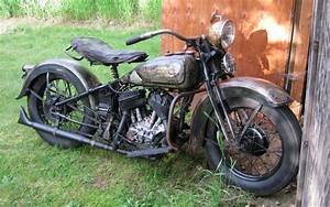 Ready To Ride  1936 Harley