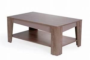 Table Basse Chene Gris : table basse arcangue chene gris ~ Teatrodelosmanantiales.com Idées de Décoration