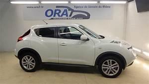 Nissan Juke Blanc : nissan juke 1 5 dci 110 fap tekna occasion lyon s r zin rh ne ora7 ~ Gottalentnigeria.com Avis de Voitures