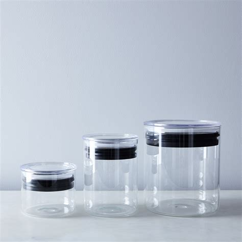 kitchen storage canister glass airtight food storage containers on food52