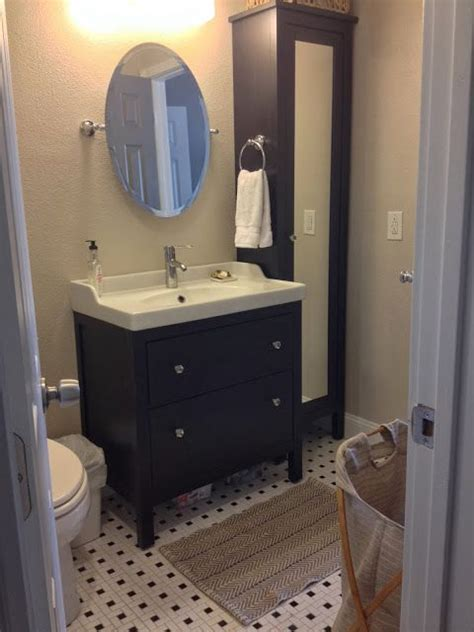 ikea hemnes bathroom sink pin by on getting the house ready