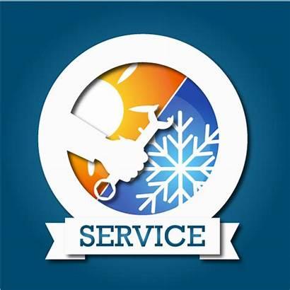 Air Conditioner Vector Hvac Repair Heating Service