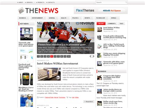 News Themes Best Newspaper Themes For Smashing Magazine