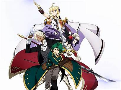Grancrest War Record Senki Siluca Anime Irvin