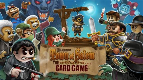 town  salem card game  kickstarter gameranx