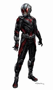 Alternate ANT-MAN Suit Designs by Concept Artist Andy Park ...