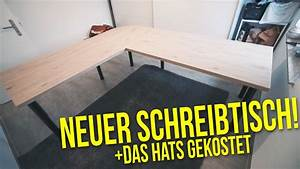 Schreibtisch Selbst Bauen : schreibtisch selber bauen das hats gekostet projekt ~ A.2002-acura-tl-radio.info Haus und Dekorationen