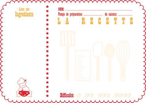 carnet de cuisine vierge printable cachemire soie du bonheur de la
