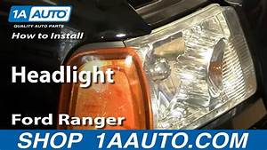 How To Install Replace Headlight Ford Ranger 01